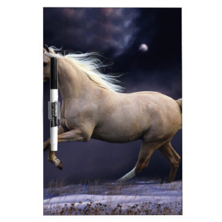 horse galloping Dry-Erase boards