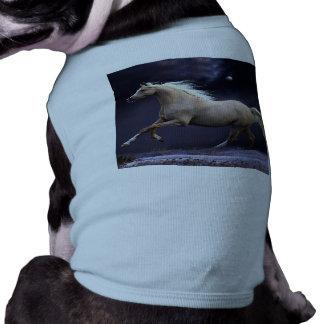 horse galloping pet t-shirt
