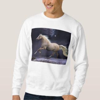 horse galloping sweatshirt