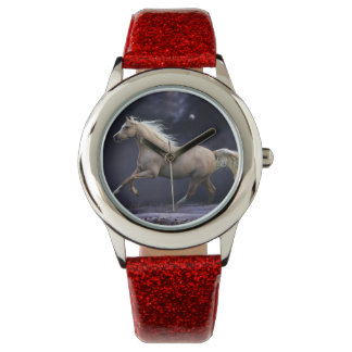 horse galloping wrist watches