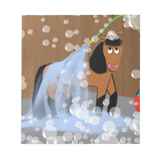 Horse Getting a Bath.tif Notepad