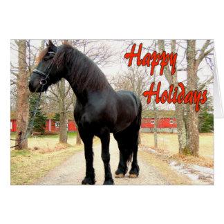Horse Happy Holidays.jpg Card