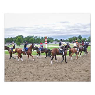 Horse Haven Turf Runners Photo Print
