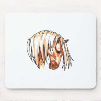 HORSE HEAD LARGER MOUSE PAD