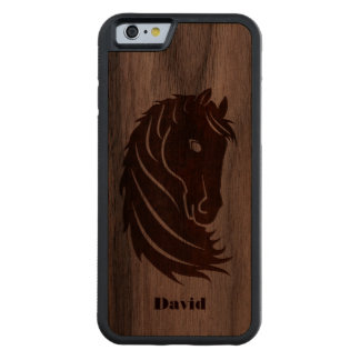 Horse Head Wooden iPhone 6 Case