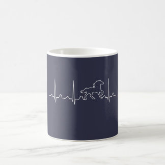 HORSE HEARTBEAT COFFEE MUG
