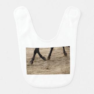 Horse hooves bib