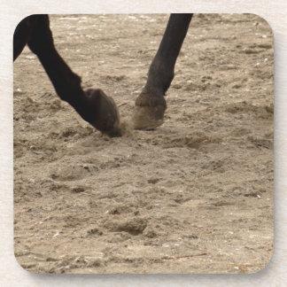 Horse hooves coaster