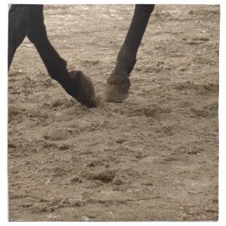 Horse hooves napkin