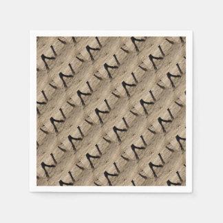 Horse hooves paper napkin