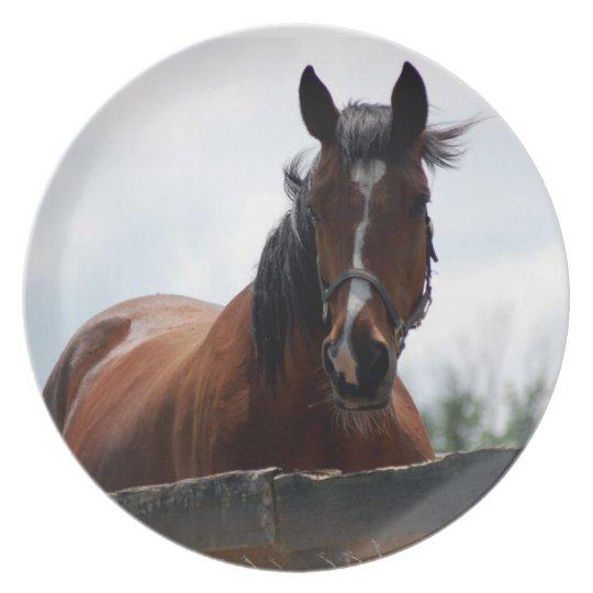 Horse II Plate