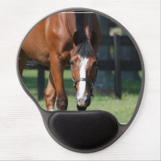 Horse in a Field Gel Mouse Pad