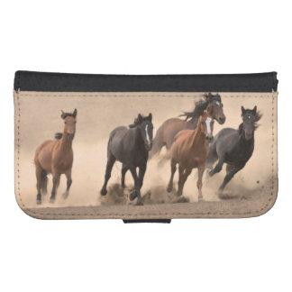 Horse In Fall II Samsung S4 Wallet Case