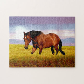 Horse in Field Jigsaw Puzzle