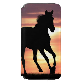 Horse In Sunrise Incipio Watson™ iPhone 6 Wallet Case