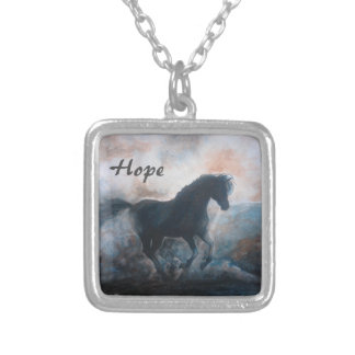 """Horse in the Haze """"Hope"""" Necklace Jewelry"""