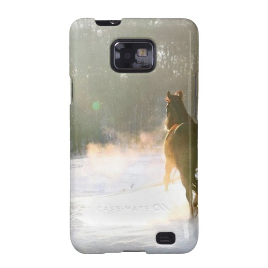 Horse in the snow galaxy SII case