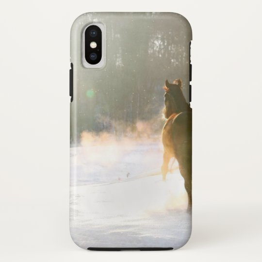 Horse in the snow HTC vivid case