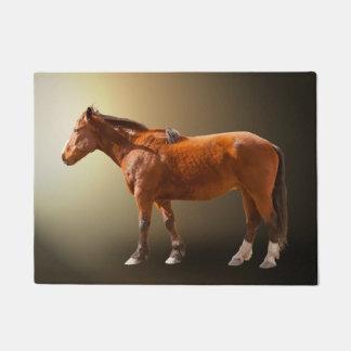 HORSE IN THE SUN DOORMAT