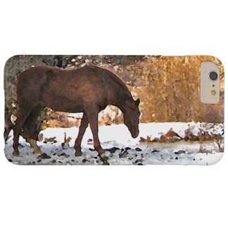 Horse in Winter iPhone 6 Plus Case
