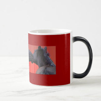 Horse Kiss Mugs