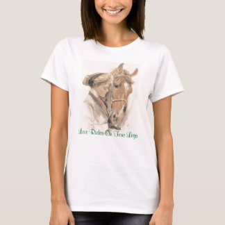 Horse Ladies T-Shirt Vintage