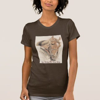 Horse Ladies T-Shirt Vintage