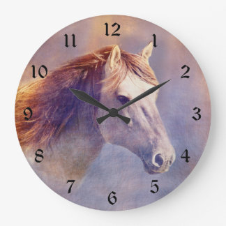 Horse Large Clock