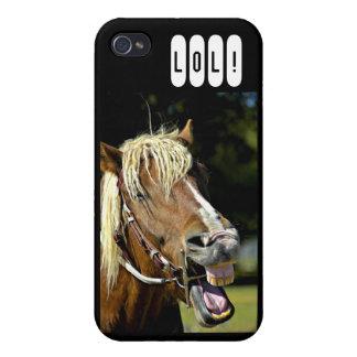 Horse LOL 4G iPhone Case iPhone 4 Case
