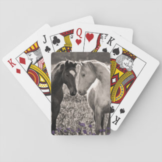 Horse Love Poker Deck