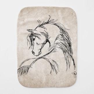 Horse Lover Burp Cloth