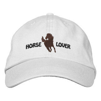 Horse Lover Embroidered Cap - Different Hat Styles Embroidered Hat