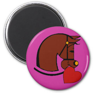 Horse Lover, Heat Valintine Magnet
