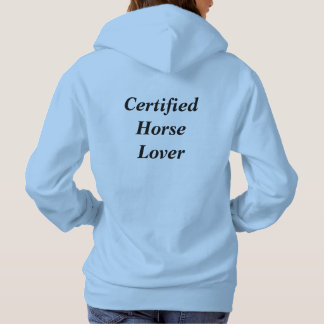 Horse Lover Hooded Sweatshirt