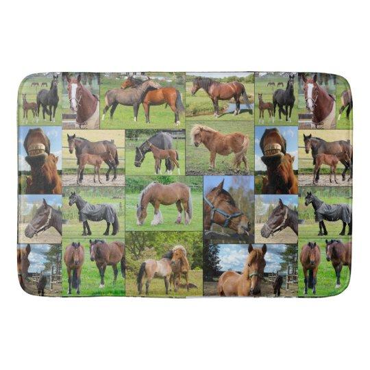 Horse Lover's bath mats
