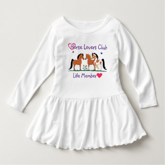 Horse Lovers Club Life Member Dress