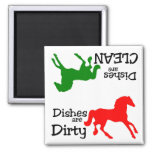 Horse Lovers Dishwasher Magnet