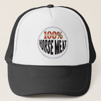 Horse Meat Tag Trucker Hat