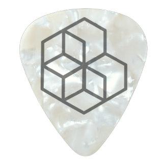 Horse (+) / Medium Gauge .80mm Guitar Picks, Pearl Pearl Celluloid Guitar Pick