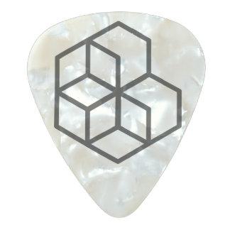 Horse (+) / Medium Gauge 80mm Guitar Picks, Pearl Pearl Celluloid Guitar Pick