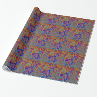 Horse Merry Go Round Wrapping Paper