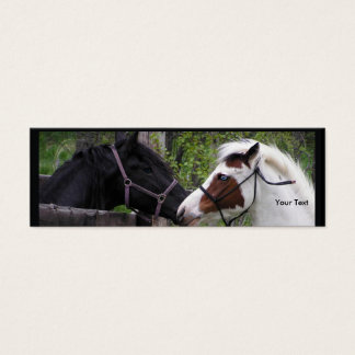 Horse Mini Business Card