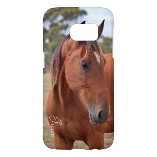 Horse Monogram Samsung Galaxy S7 Case