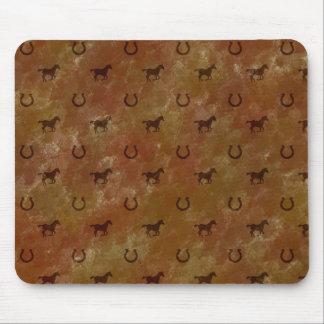Horse Motif Mouse Pad