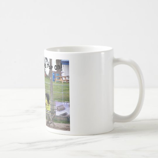 Horse mug. Keep calm and ride on! Coffee Mug