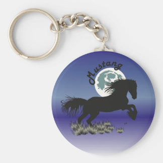 Horse - Mustang key supporter Keychain