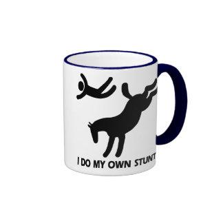Horse My Own Stunts Coffee Mug