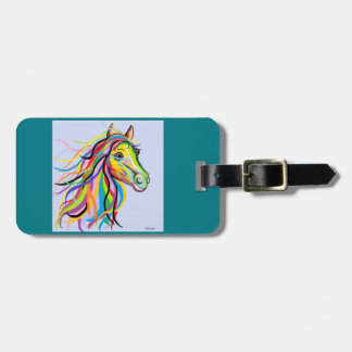 Horse of a Different Color Luggage Tag