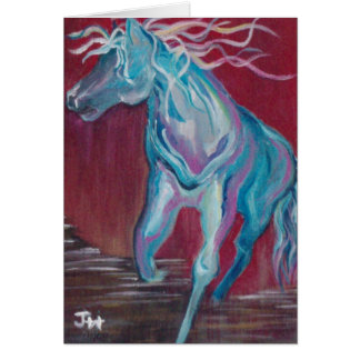 """Horse of Many Colors"" Card"