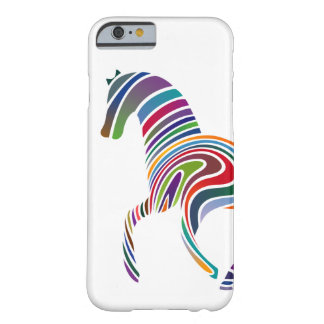 Horse of rainbow barely there iPhone 6 case